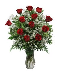 One dozen red roses from Bixby Flower Basket in Bixby, Oklahoma