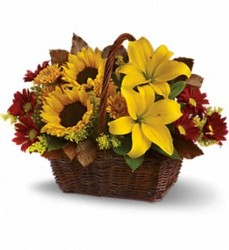 Autumn Days Basket from Bixby Flower Basket in Bixby, Oklahoma